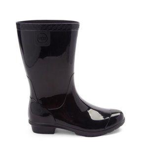 Ugg Black Rain Boots Kids 13G  RAANA